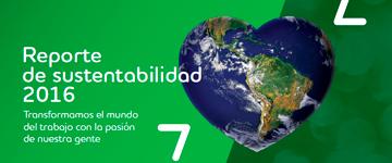 Reporte 2016 sustentabilidad adecco argentina
